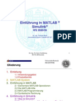 Matlab Lehrgang08 09 Skript[1]
