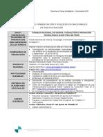 Requisitos Nacionales Peru 2018
