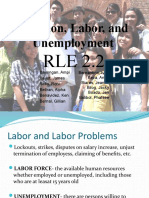 Inflation, Labor, And Unemployment