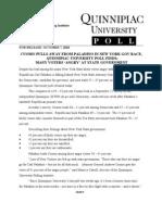 Q Poll Governor 10072010