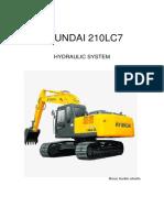 Hyundai 210lc7 Hydraulic System