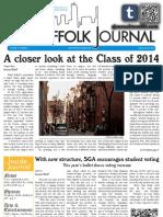 The Suffolk Journal 9/29/2010