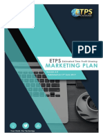 Etps Marketing Plan