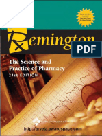 Remington-The science and Practice of Pharmacy By Alfonso R Gennaro
