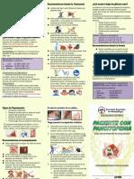 Triptico de Pancitopenia