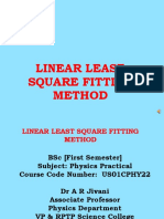 FYBSc_LINEAR LEAST SQUARES FITTING METHOD 18-9-2018.pptx