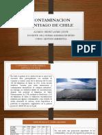 Contaminacion Santiago de Chile