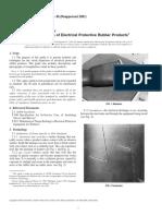 F 1236 - 96 R01 (Inspeccion de Productos de Goma)