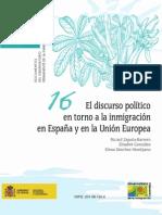 El discurso político en torno a la inmigración en España y en la Unión Europea