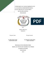SAMPUL laporan pendahuluan dan askep