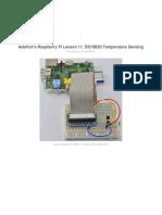 Adafruits Raspberry Pi Lesson 11 Ds18b20 Temperature Sensing Copy