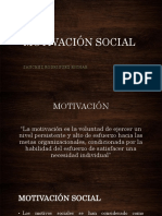 Motivacion Social