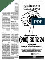 La Vanguardia 10 junio 1990 page 27 - La extraña ave que vuela sobre Barcelona