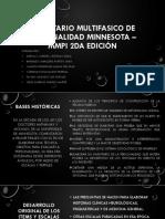 INVENTARIO MULTIFASICO DE PERSONALIDAD MINNESOTA – MMPI 2da.pptx