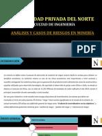 PPT Análisis y Casos de Riesgo en Minería - FINAL