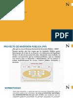 Proyecto de Inversión Pública (PIP).