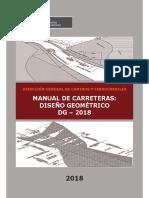 Manual de Carreteras dg 2018-01