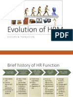 Hr Evolution