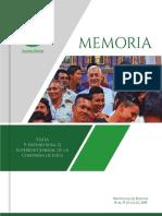Memoria Visita P. Arturo Sosa, SJ a Bolivia