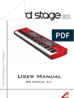 Nord Stage EX Manual v4.x (Eng)