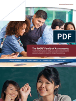 TOEFL Family Brochure