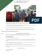 Trabajadores de La Basura en Cancún Quinta Fuerza