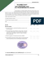 Baby Program Collaborative Process Checklist 083117