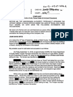 Juan David Ortiz Warrants and Affidavits (Redacted)