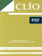 Revista Clío, Año 85 • enero-junio de 2016 • No. 191