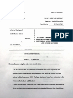 Affidavit of Alpha News Editor in Chief Christine Bauman