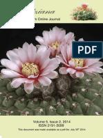 The Gymnocalycyum Online Journal