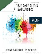 GCSE Elements of Music Teacher Book