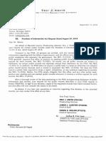 Macomb County FOIA response