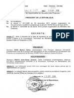 Decrets Nominations Septembre