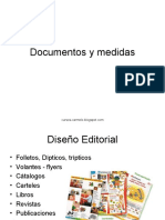 documentos y medidas