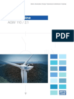 WEG Wind Turbine Agw 110 2.1 50049460 Brochure English