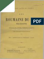 Les Roumains du Sud
