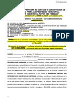 Escritura de Compraventa de Bien Inmueble Con Reserva de Usufructo Vitalicio-OBLIGACIONES PREVIAS Y POSTERIORES