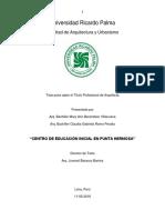 Tesis - CENTRO DE EDUCACIÓN INICIAL