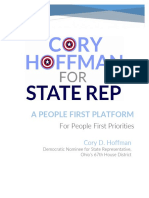 A People First Platform for People First Priorities - Cory Hoffman (HD67)