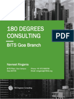 180 Degrees Consulting - BITS Goa
