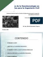 Nanotecnología de materiales