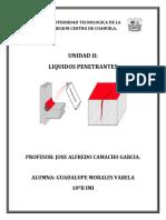 Unidad 2 LIQUIDOS PENETRANTES