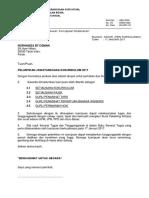 Surat Pelantikan KOKurikulum 2017