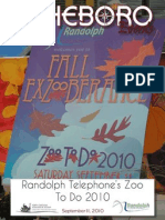 Asheboro Event Magazine-Zoo To Do-September 11, 2010