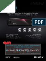 HD 1000S Leaflet