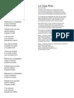 Letra El Chingadazo