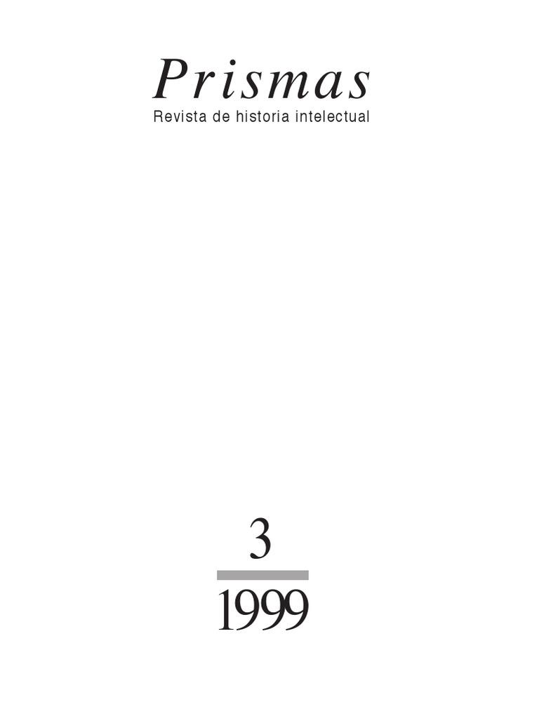 1238d15bc79be Revista Prismas n° 3 - 1999