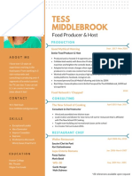tess middlebrook 2018 resume