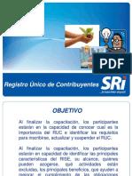 RUC-RISE Servicio de Rentas Internas del Ecuador